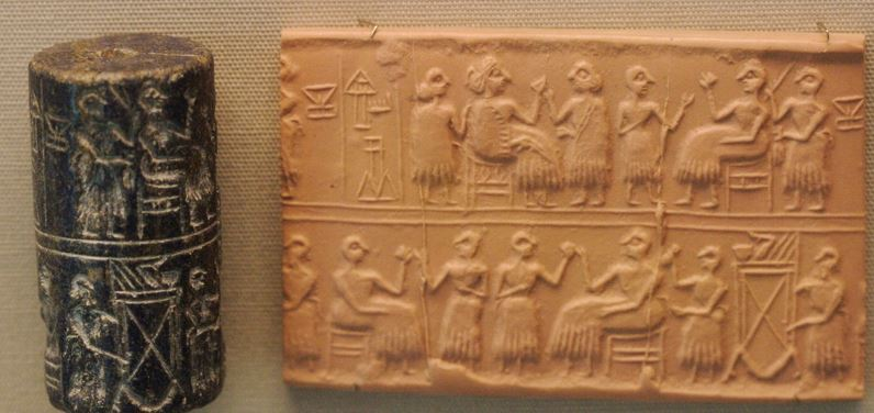 Cylindrical_Seal_Ur_2600_Ur_First_Dynasty