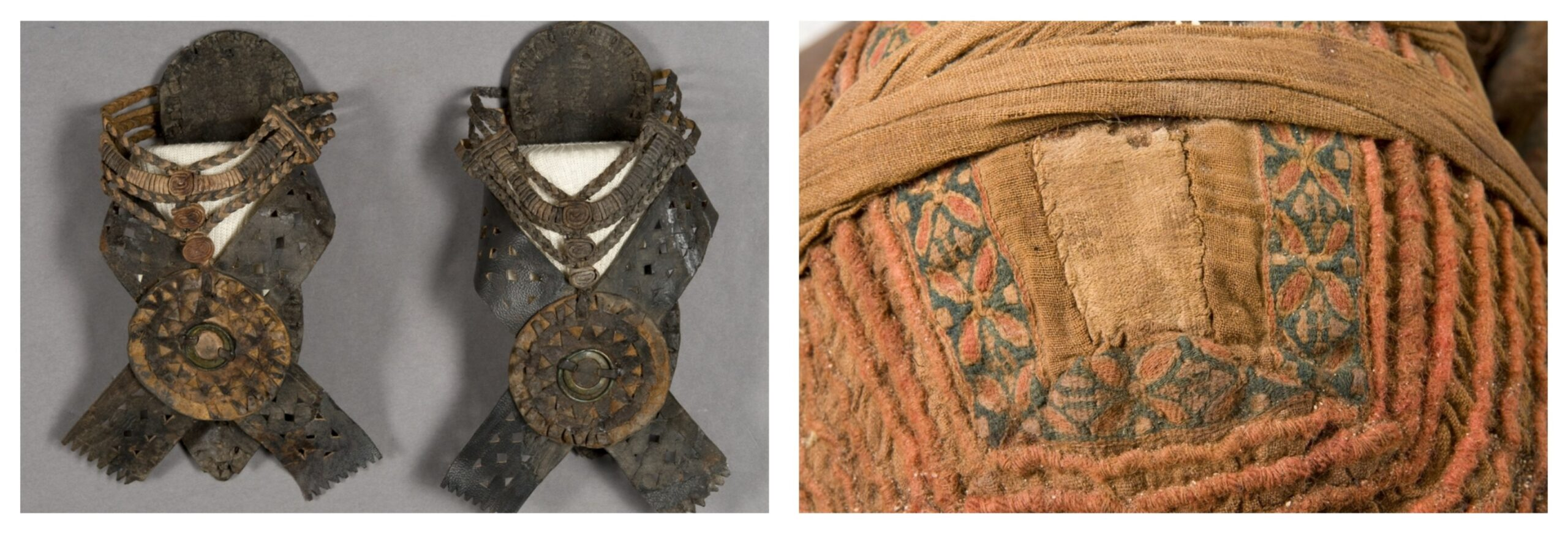 The clothes of the prophetess and the textile element