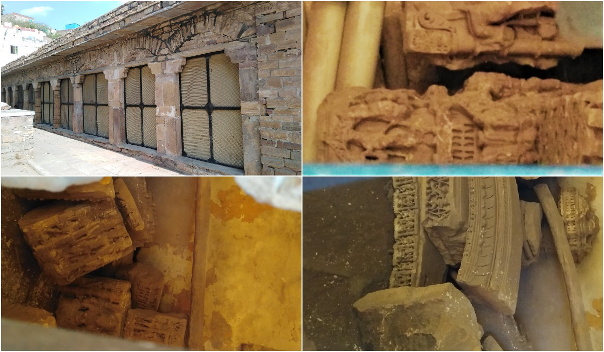 Dhai Din Ka Jhonpra Hidden Hindu Temple Artifacts