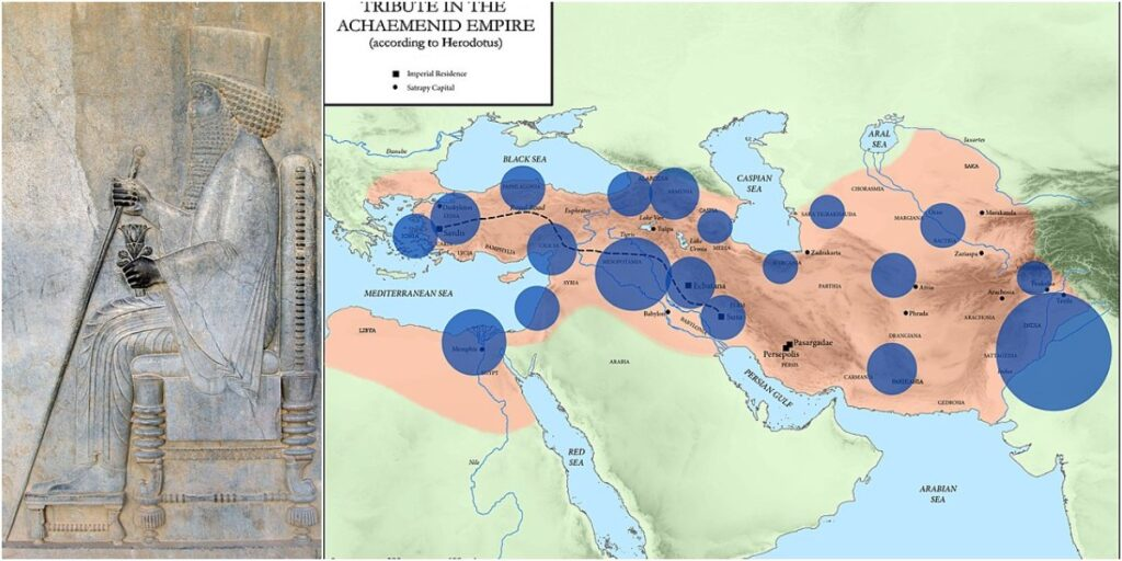 Achaemenid Empire during Darius I